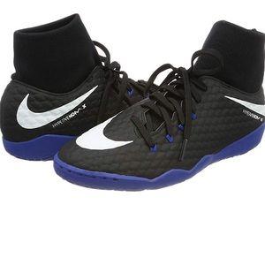Blue and black Nike Hypervenomx Phelps 3